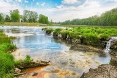 Venta-Rapid, Kuldiga, Lettland Stockfoto