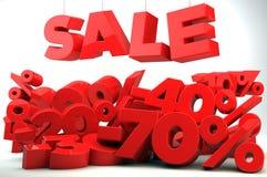 Venta - reducción de precio Imagen de archivo libre de regalías