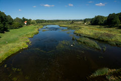 Venta rzeka Obrazy Stock
