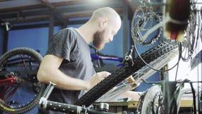 Venta y reparación de bicicletas almacen de video