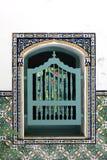Ventana árabe Imagenes de archivo