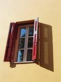 Ventana abierta 3 Foto de archivo libre de regalías