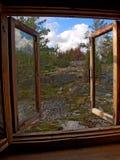 Ventana abierta Foto de archivo libre de regalías