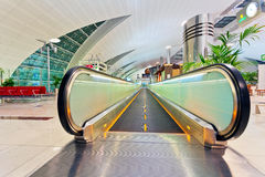 Ventana abstracta en el aeropuerto Imagenes de archivo