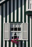 Ventana adornada Foto de archivo libre de regalías