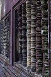 Ventana adornada en Angkor Wat Fotografía de archivo libre de regalías