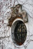Ventana adornada francesa Fotografía de archivo