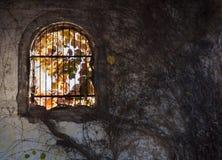 Ventana arqueada Foto de archivo libre de regalías