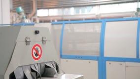 Ventana automatizada de la protuberancia de la producción metrajes