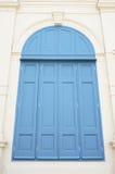 Ventana azul grande foto de archivo libre de regalías