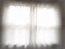 Ventana blanca brillante que enfoca en la acción Fotos de archivo