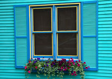 Ventana colorida Fotos de archivo