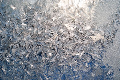 Ventana congelada Fotografía de archivo libre de regalías