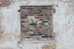 Ventana de Bricked Foto de archivo libre de regalías