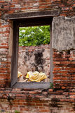 Ventana de Buddha Foto de archivo libre de regalías