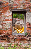 Ventana de Buddha Fotos de archivo libres de regalías