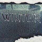 Ventana de coche congelada Fotografía de archivo libre de regalías