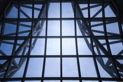 Ventana de cristal arquitectónica moderna Fotografía de archivo