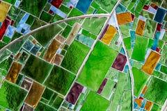 Ventana de cristal colorida imagen de archivo libre de regalías