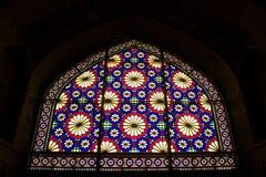 Ventana de cristal de colores Fotografía de archivo