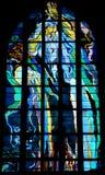 Ventana de cristal de colores Foto de archivo