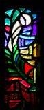 Ventana de cristal de colores. Foto de archivo libre de regalías
