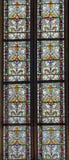 Ventana de cristal de colores 4 Fotos de archivo libres de regalías