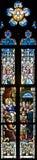 Ventana de cristal de colores 89 Fotos de archivo