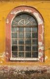Ventana de cristal del viejo grunge Fotografía de archivo libre de regalías