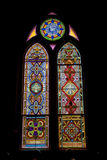 Ventana de cristal manchada Foto de archivo