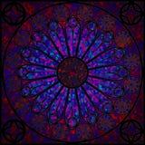 Ventana de cristal manchada 2 Foto de archivo libre de regalías