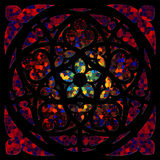Ventana de cristal manchada 3 Foto de archivo libre de regalías