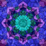 Ventana de cristal manchada Imagenes de archivo