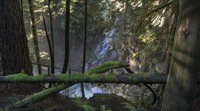 Ventana de la cascada Imagenes de archivo