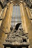 Ventana de la catedral Imagenes de archivo