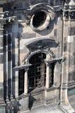Ventana de la catedral, Dresden Imagenes de archivo
