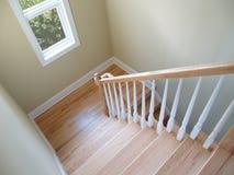 Ventana de la escalera Imagenes de archivo