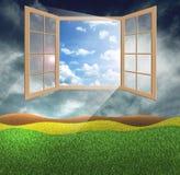 Ventana de la esperanza Imagen de archivo libre de regalías