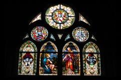 Ventana de la iglesia Imágenes de archivo libres de regalías