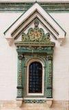 Ventana de la iglesia imagen de archivo