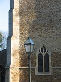 Ventana de la iglesia, Cambridgeshire Imagen de archivo