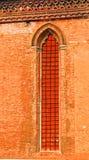 Ventana de la iglesia, Venecia, Italia fotografía de archivo libre de regalías