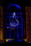 Ventana de la Navidad Fotografía de archivo