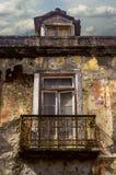 Ventana de la ruina Foto de archivo libre de regalías