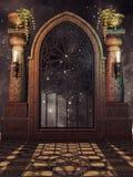 Ventana de lujo del palacio Fotografía de archivo libre de regalías