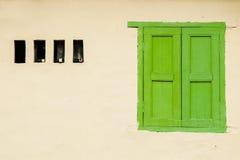 Ventana de madera Imagenes de archivo