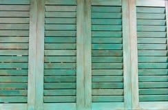 Ventana de madera Imagen de archivo