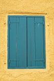 Ventana de madera Foto de archivo libre de regalías