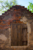Ventana de madera envejecida Fotografía de archivo