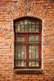 Ventana de madera vieja imagen de archivo